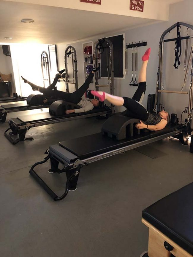 Pilates with the Arc