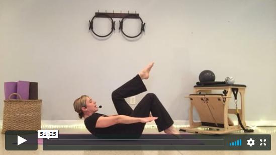 The Intermediate Mat Pilates Workout